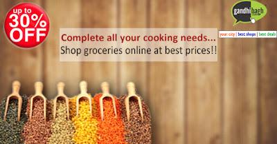Online kirana products
