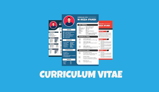 15 Contoh Cv Curriculum Vitae Lamaran Kerja Yang Menarik Netpelajar