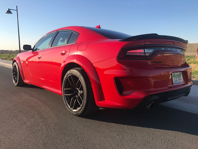 Rear 3/4 view of 2020 Dodge Charger R/T Scat Pack Plus