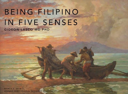 [Talk] Being Filipino in Five Senses