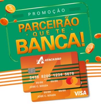 Cadastrar Promoção Cartão Atacadão 2020 Parceirão Que Te Banca - 1 Milhão em Prêmios
