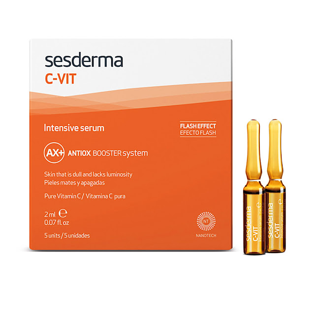 sesderma ampollas flash vitamina c