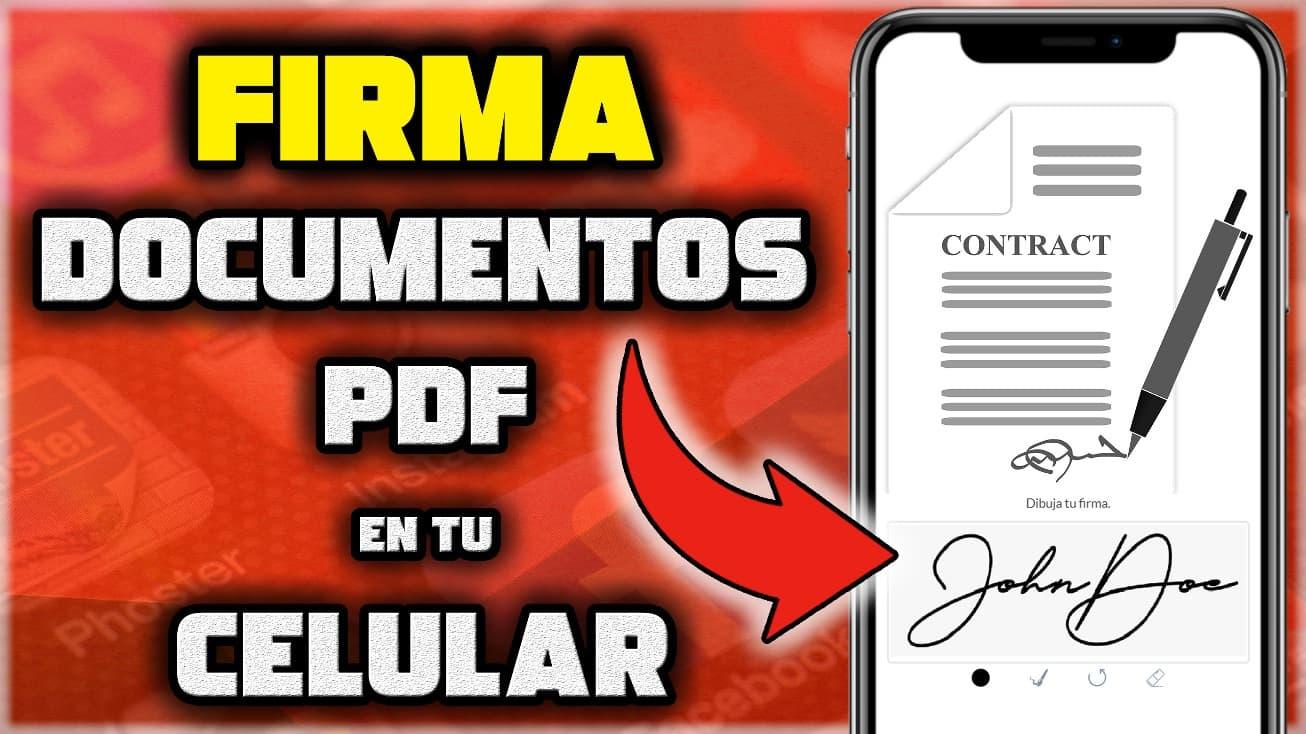 Cómo hacer una firma digital en un documento PDF