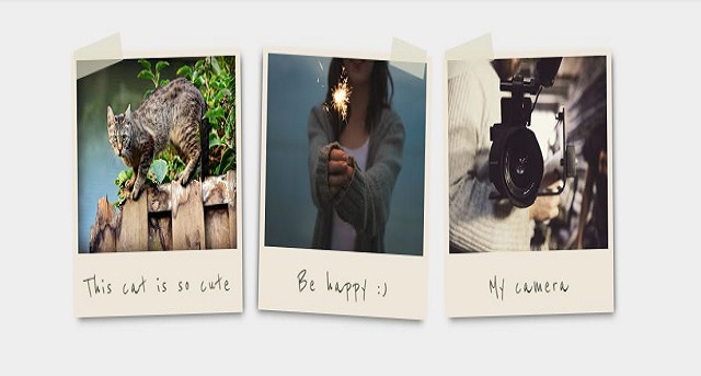 Bingkai Foto dan Gambar Polaroid dengan CSS 02