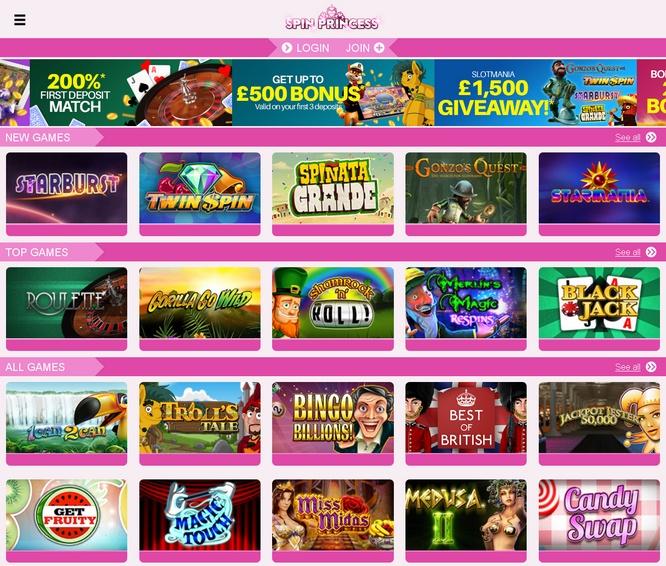 Spin Princess Casino