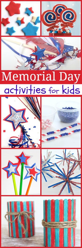 20 Memorial Day Crafts For Kids