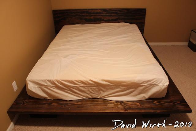 make cheap platform bed foam