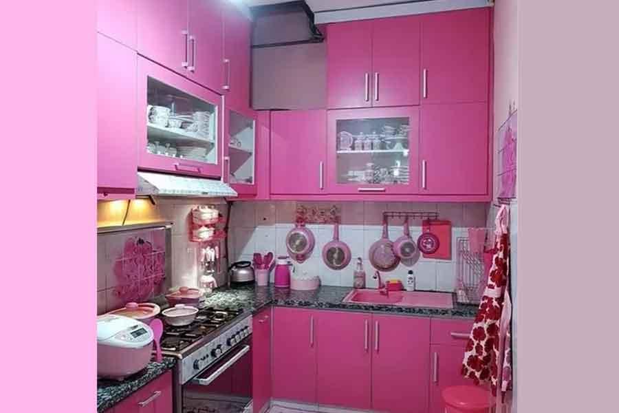 Mendekor Dapur Khas Indonesia
