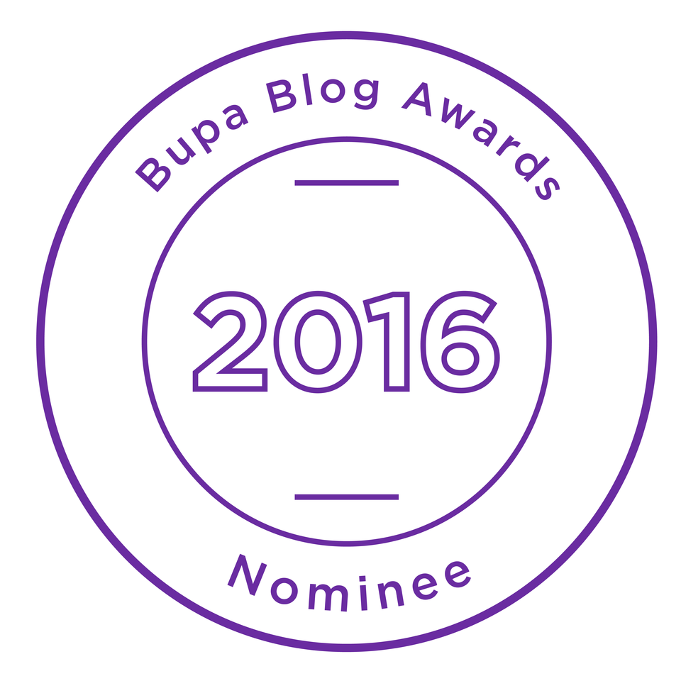 Bupa Blog Awards Nominee 2016