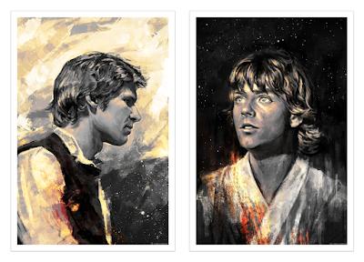 Star Wars Portrait Prints by Alice X. Zhang x Bottleneck Gallery