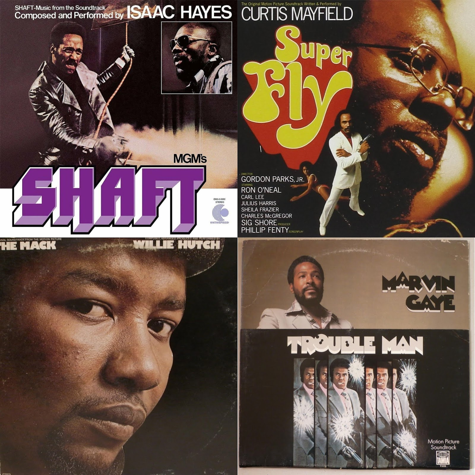 DAR Retro: 7 Classic Soul Soundtracks From The 70's