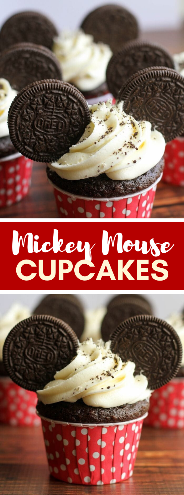MICKEY MOUSE CUPCAKES #desserts #cake