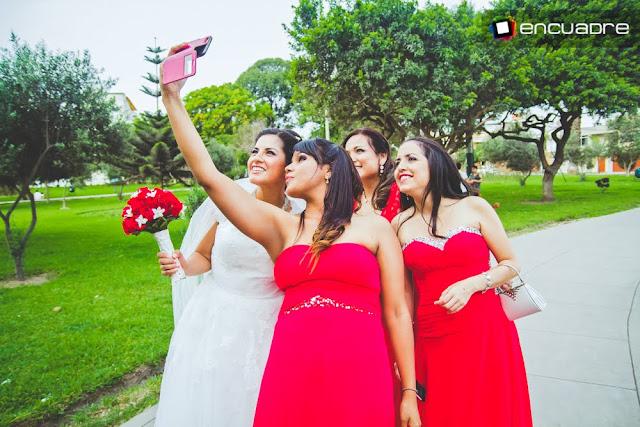 boda selfie