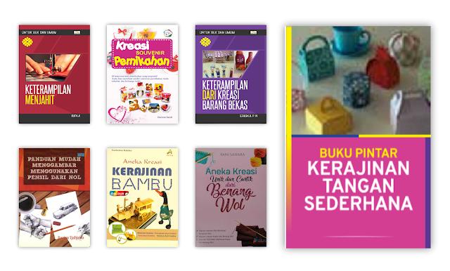 Buku Keterampilan dan Kerajinan Tangan Untuk Koleksi Perpustakaan Desa