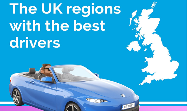 Which UK region is home to the best drivers?