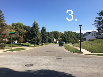 "Photo of a street; caption ""3"""