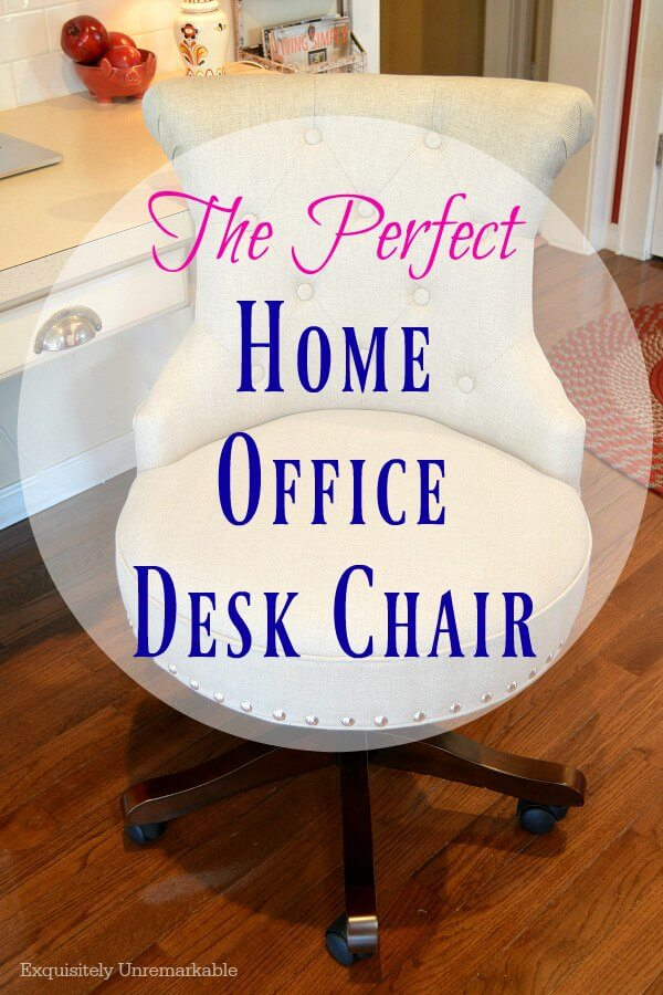 The Perfect Home Office Desk Chair