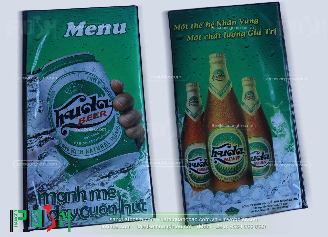 sản xuất menu beer