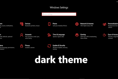 How To Set Dark Theme On Your Computer.
