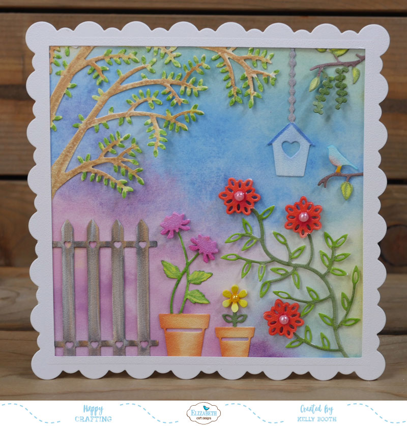 Lovin the life i color focusing on becky seddon release for Garden designs by elizabeth