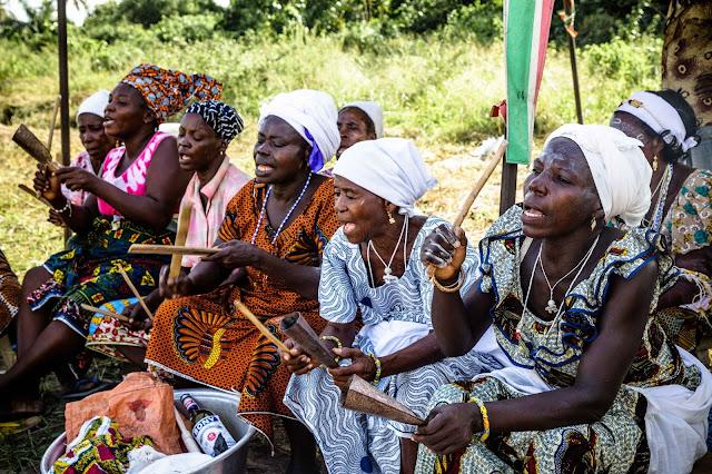 ガーナ 儀式 歌 Ghana  ritual song