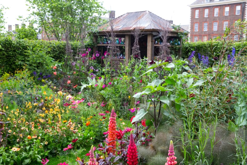 El jardín de Sarah en Chelsea 2017