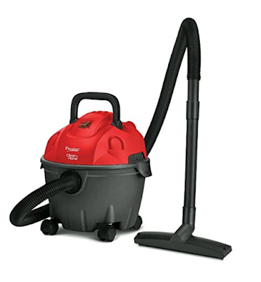 Prestige 1200 Watt Wet and Dry Vacuum Cleaner with Powerful 1200 watts Moto, Auto-cut Float and High Dust Case Capacity