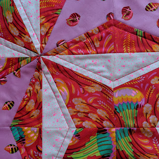 spring fling mini quilt by Lucy Brennan | Charm About You