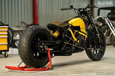 THIS MODIFIED MOTORCYCLE IS  SCOOTER | APRILIA SR 150 | TJ MOTO