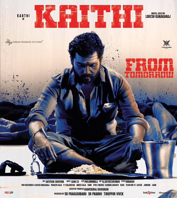 Kaithi (2019) UNCUT 720p HEVC WEB-HDRip x265 Esubs [Dual Audio] [Hindi ORG – Tamil]