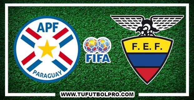 Ver Paraguay vs Ecuador EN VIVO Por Internet Hoy 23 de Marzo 2017