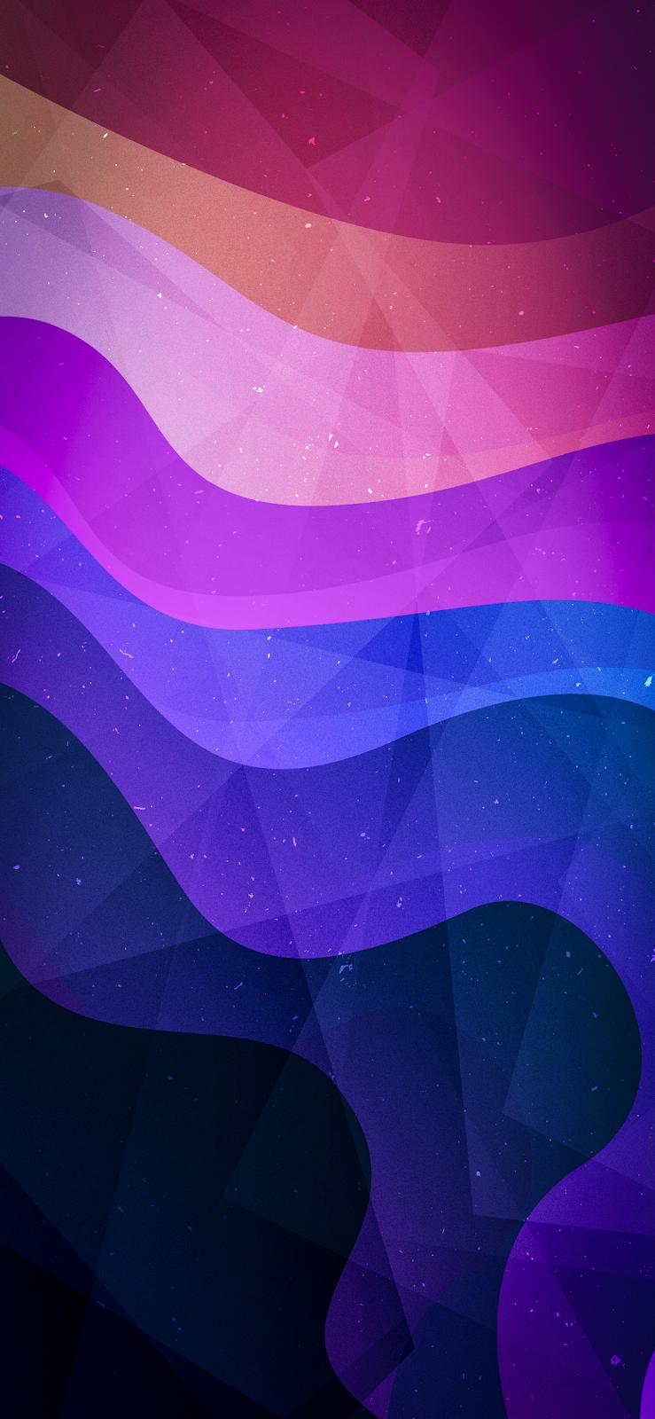 Abstract Paper Style by EvgeniyZemelko (iPhone X)