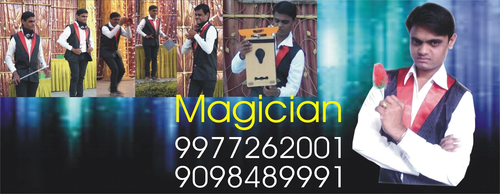 Perfect magician for Birthday Show