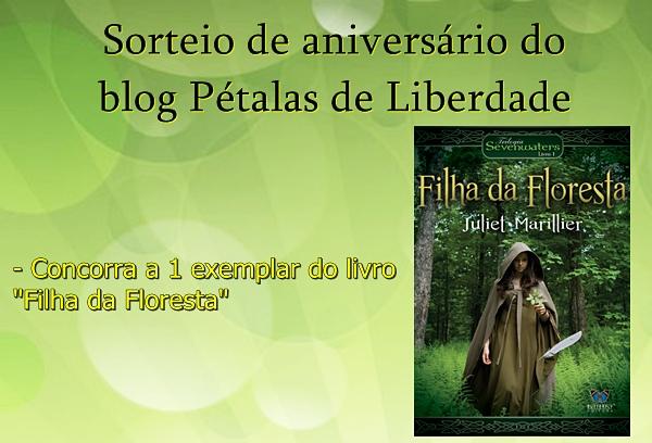 sorteio, blog, livro, Filha-da-Floresta, Juliet-Marillier