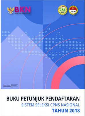 Buku Petunjuk Pendaftaran SSCN 2018 versi 02.00