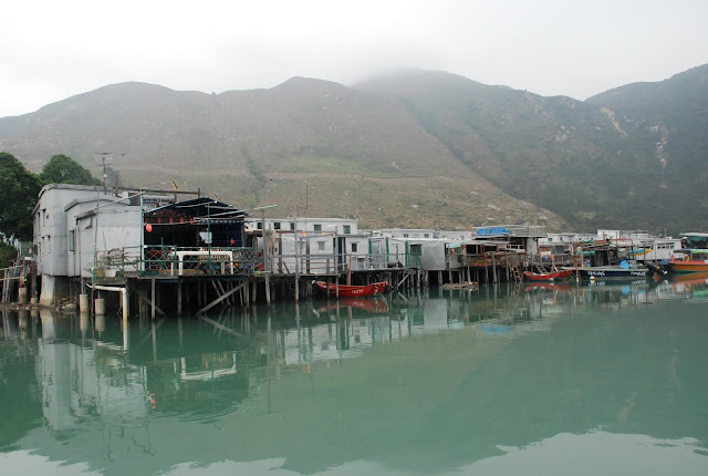 Stilt Houses in Tai O