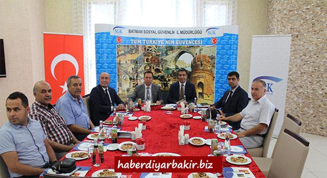 Diyarbakır Sosyal Güvenlik İl Müdürlüğü Batman'da toplandı