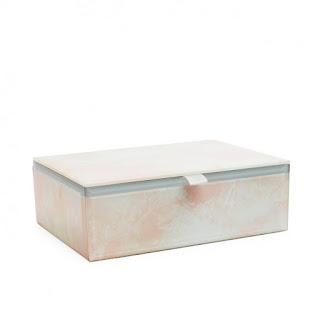 Gemstone Jewellery Box - Lola Rose - Rose Quartz
