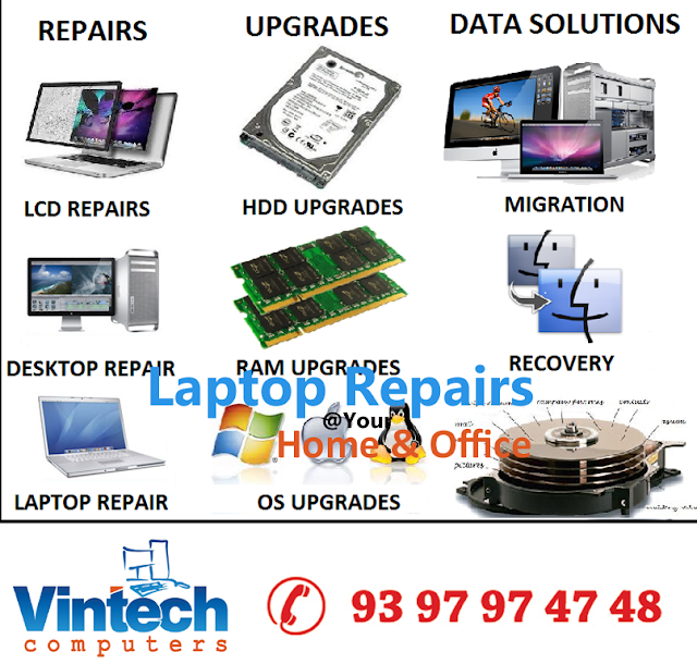 Laptop spares and service center in hyderabad