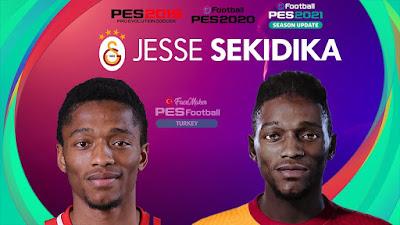 PES 2021 Faces Jesse Sekidika by PES Football Turkey