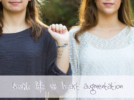 4 Things to Know About a Breast Lift Vs. Breast Augmentation