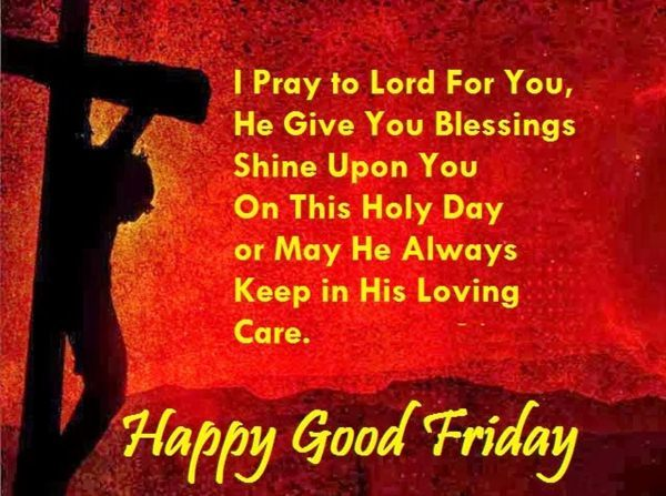 Happy Good Friday Wishes Pictures
