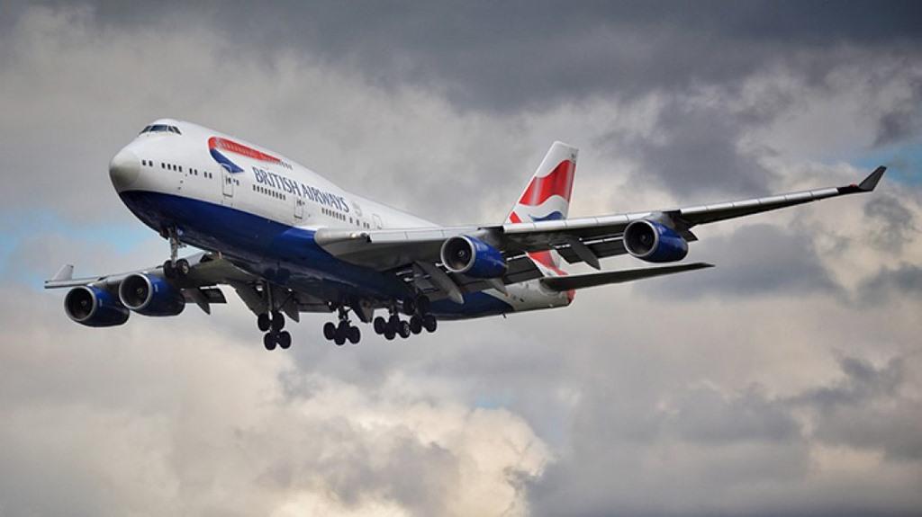 영국항공 B747-400