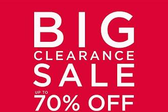 SM City Urdaneta Central Big Clearance Sale