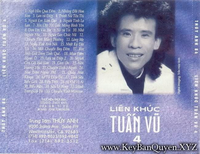 CD nhạc Liên Khúc Tuấn Vu (1989) [WAV]