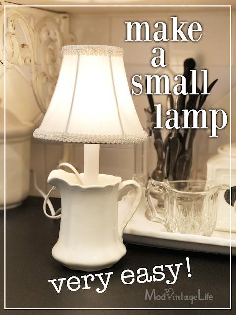 Let's Make a Lamp!
