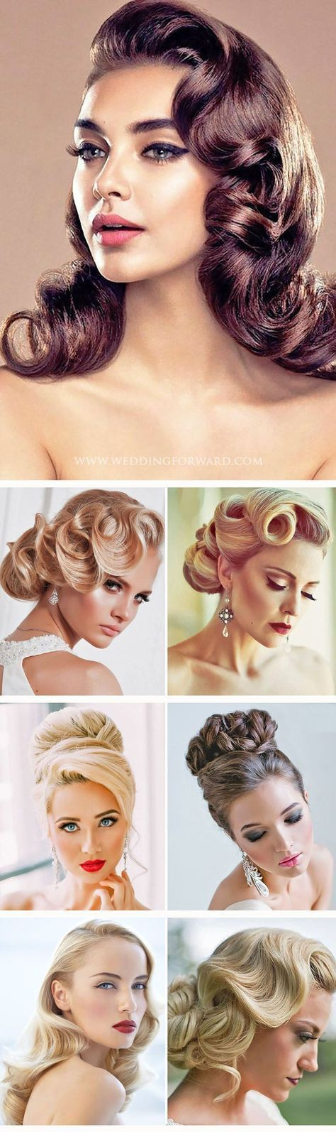 30 UTTERLY GORGEOUS VINTAGE WEDDING HAIRSTYLES