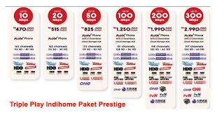 Paket Prestige Indihome