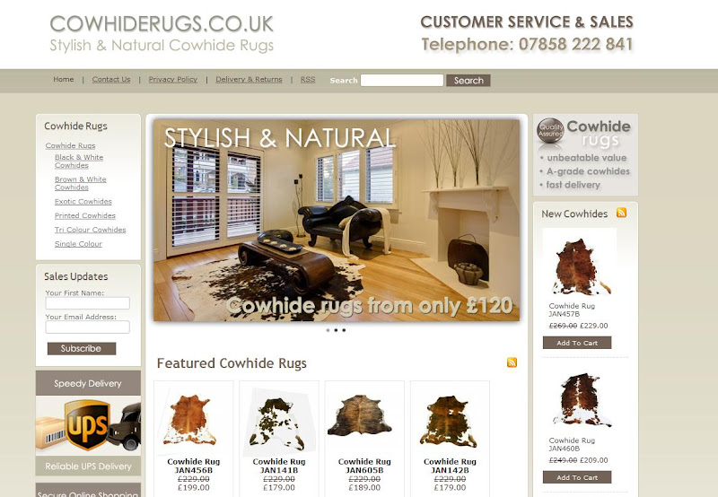 Cowhide Rugs Blog New Video For Cow Hide Uk