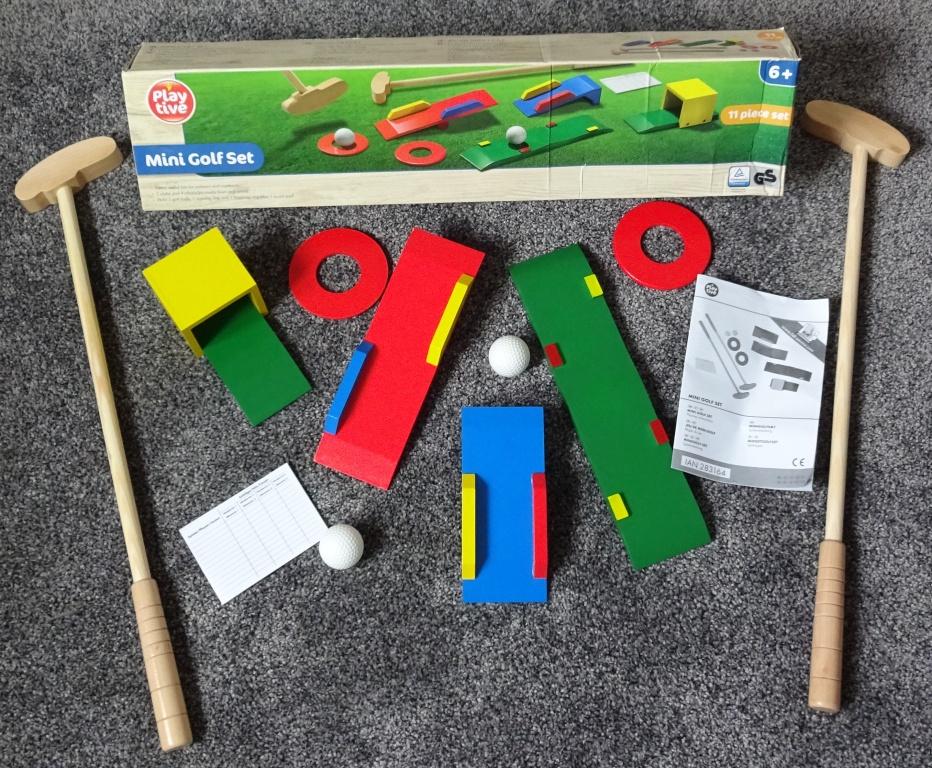 Miniature Golf Fun Set |Miniature Golf Set
